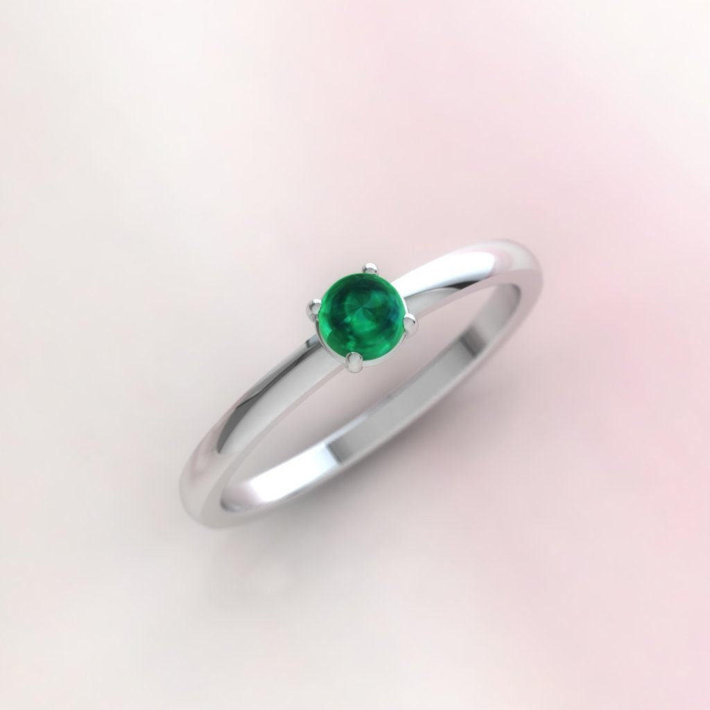 finish img emerald itm real gold yellow royal diamond created ring cut