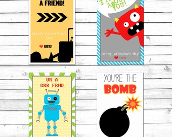 Valentine Cards-Valentines Day-Personalized