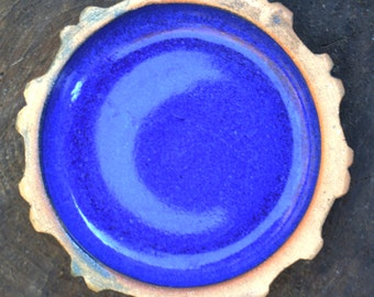 Cobalt Glazed Pottery