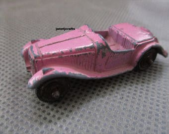 Tootsie toy Diecast toy car , Vintage toy car , 1960,s toy car , Toys from the 1960's ,