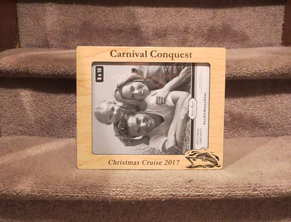 Carnival Cruise 5x7 or 8x10 (Your Choice) Picture Frame Personalized ...