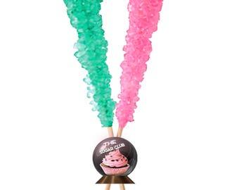 Blue And Pink Candy Gender Reveal Favor Gender Reveal Party Light Pink Candy Pink Wrapped Candy Gender Reveal Candy Gender Reveal Idea Aqua