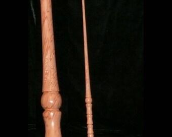 FIR Handmade MAGIC WAND, Pagan, Wicca, Fairy, Wizard, Druid