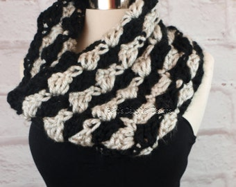 Sweater scarf crochet pattern crochet pattern crochet scarf crochet cowl pattern crochet infinity scarf pattern thick and chunky neck warmer easy crochet pattern for dt1010fo