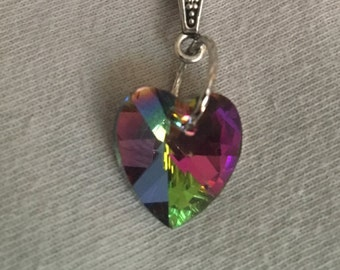 Swarovski Heart and Sterling Silver necklace