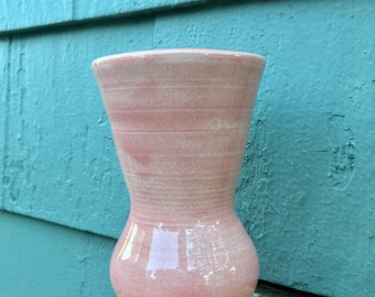 Small Flared Vase in Rose Pink