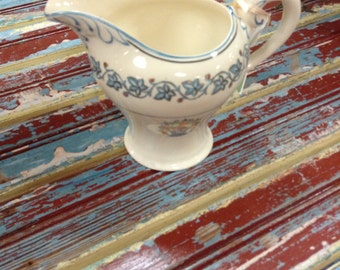 Staffordshire cream pitcher