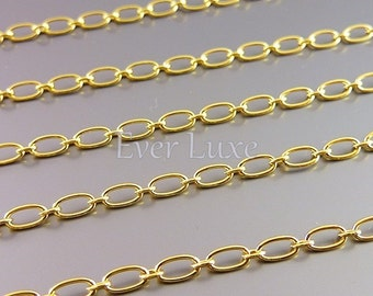 1 meter unique oval link chains, 16K gold plated brass chains, designer style chains, necklace chains, supplies B089-BG