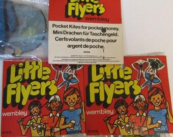1970s Little Flyers Kite - Blue Bird - In original packaging