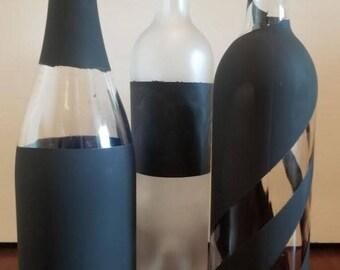 Chalkboard Wine Bottle w/Chalk