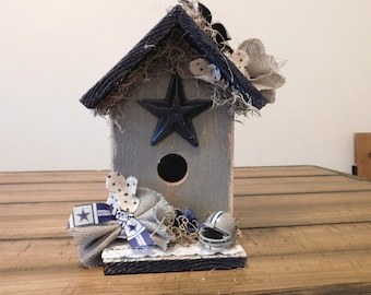 Dallas Cowboy Birdhouse