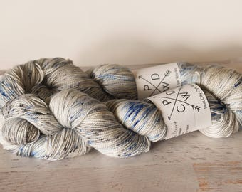 Member of the Court - Alabama Sock 80/20 Superwash Merino/Nylon - hand dyed yarn - Ready to ship