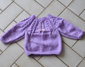 Purple sweater 6 months