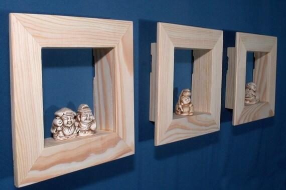Shadow Box Frame set 6 x 6 Wall shadow box