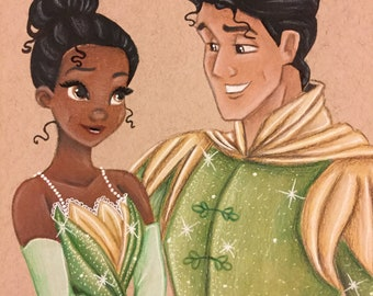 Princess and the Frog print
