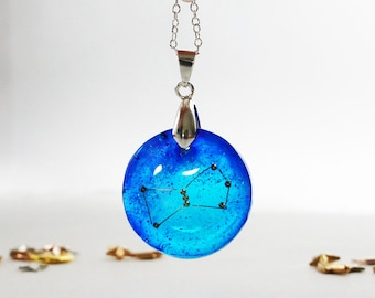 Zodiac Jewelry, Orion Constellation Necklace, Astrology necklace, Constellation Necklace, Star Jewelry, Galaxy necklace, Gift for Women