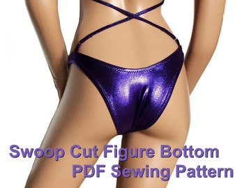 Swoop Cut Figure Bottom (5 Sizes)