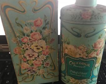 1977 Vintage Avon Trailing Arbutus Perfumed Talc