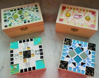 MOSAIC JEWELRY BOXES