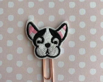 Frenchie Planner Clip