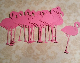 Die Cut, Flamingos.    #PAR-7
