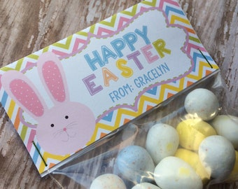 PRINTABLE DIY Easter Treat Bag Topper