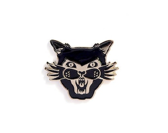 Black cat appreciation society  - Enamel pin