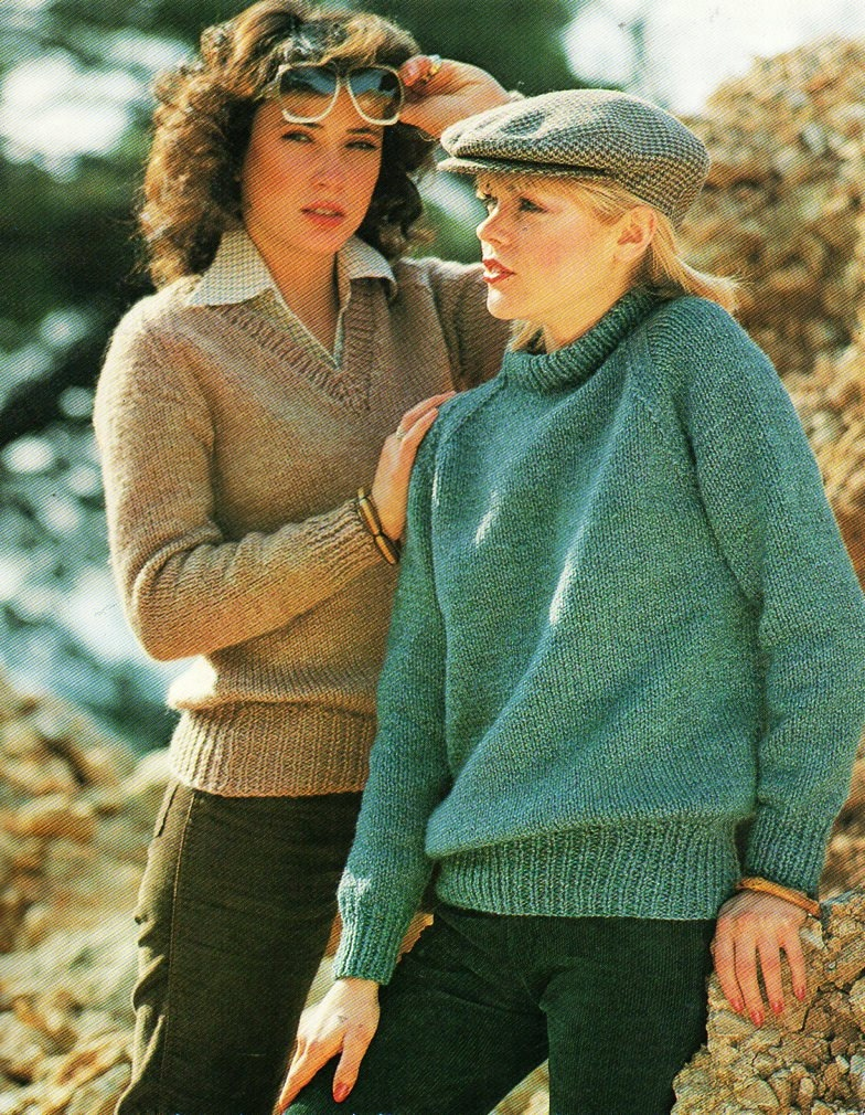 ladies chunky sweaters knitting pattern pdf womens bulky