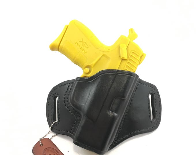 Springfield XDE 3.3 - Handcrafted Leather Pistol Holster