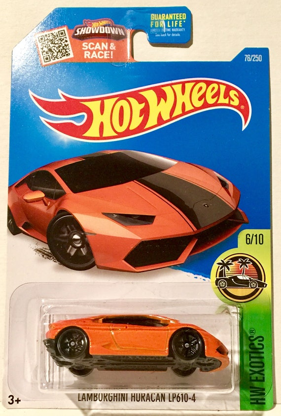 Amazing Hot Wheels Lamborghini Huracan LP610 4 76/250 HW Exotics