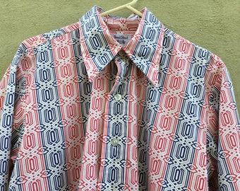 Men's 1970 Bond Street Boutique Big Collar Shirt