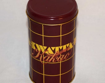 Vintage Greek Kakao (Cocoa) Tin