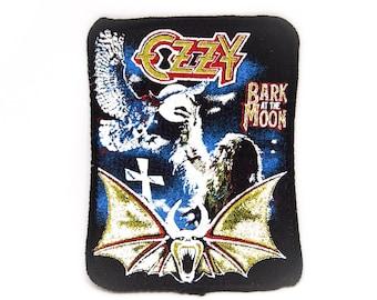 Vintage Ozzy Osbourne Bark At The Moon Patch