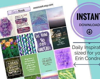 Daily Inspiration Stickers - Christian (printable)
