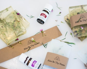 Botanical Soaps infused with Essential O