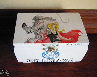 Anime hand painted boxes series / Fullmetal Alchemist Box