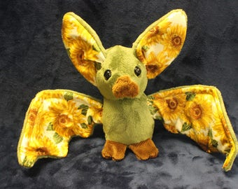 Olive Sparkle Sunflower Bat