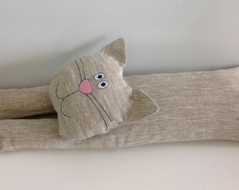 door draft stopper / draft stopper / window draft stopper /cat / personalized draft stopper