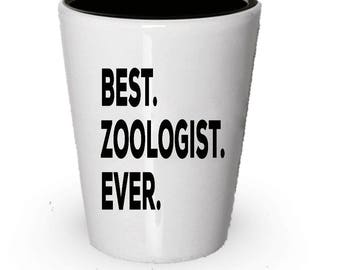 Zoologist Shot Glass, Best Zoologist Ever, Zoologist gift, Gift for Zoologist , Birthday Gift, Christmas Present