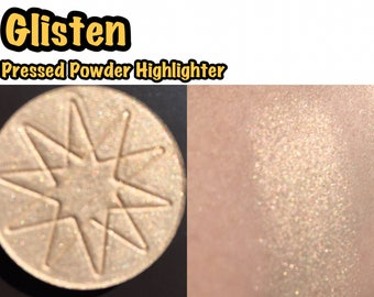 Glisten - Pressed Powder Highlighter / Eyeshadow - 36mm PAN