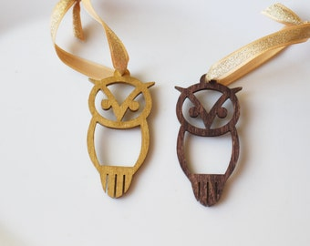Chi Omega Ornament // Owl Wooden Ornament // Sorority Christmas Gift // Chi Omega Owl