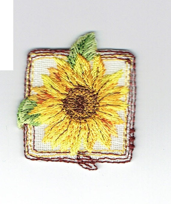 """Patch fusible trend pattern """"Flower"""""""
