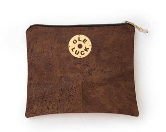 Cork Purse- Brown