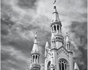 Church - signed open edition fine art giclée print