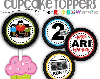 CT-776: DIY - Run ABC Cupcake Toppers