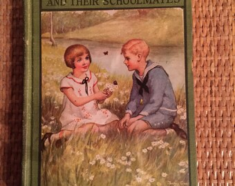 "Book , ""The Bobbsey Twins and their Schoolmates"""