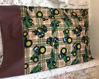 Tractor Pillowcase