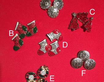 Snap buttons! Fits all 18 size jewelry! Pick your choice!!