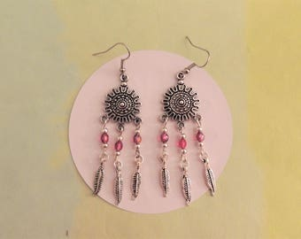 Lima pink earrings Fuchsia