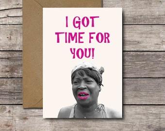 I Love You Meme Funny For Her : I love you blah blah blah funny valentine's day card